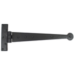 From The Anvil 33989 - Black T-Hinge with Penny End 12 inch