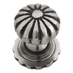 From The Anvil 83510 - Cabinet knob with Base - Large - Natural