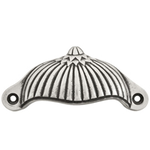 From The Anvil 83517 - Drawer Pull/Cup Handle - Decorative - Natural