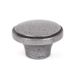 From The Anvil 33365 - Natural Smooth Ribbed Cabinet Knob 32mm