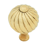 From The Anvil 83550 - Spiral Cabinet knob - Small - Brass