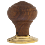 From The Anvil 83562 - Ringed Rosewood Wooden Knob