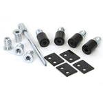 From The Anvil 83640 - Black Secure Sash Window Stops (Pack of 4)