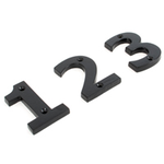 From The Anvil 83703 - Black Numeral 3