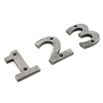 From The Anvil 83734 - Antique Pewter Numeral 4