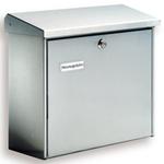 Burg Wachter Comfort 3913 Ni - Comfort 3913 Ni Stainless Steel Post Box