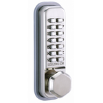 Codelocks CL200 - Mechanical Codelock with Surface Deadbolt