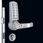 Codelocks CL4020 - Medium Duty Electronic Tubular Mortice Sash Codelock with Deadbolt and Latchbolt