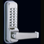 Codelocks CL415 - Mechanical Codelock with Mortice Latch and Code Free entry option