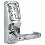 Codelocks CL5010 BB - Heavy Duty Electronic Tubular Mortice Latch Codelock - Back to Back