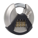 Sterling Locks CPL170 - Stainless Steel Combination Disc Padlock 70mm
