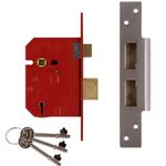 Union J2234E - BS 5-lever Mortice Sash Lock