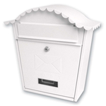 Sterling Locks MB01 - White Classic Post Box