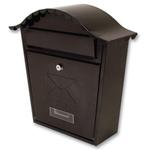 Sterling Locks MB01BK - Black Classic Post Box
