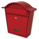 Sterling Locks MB01R - Red Classic Post Box
