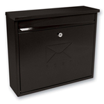 Sterling Locks MB02BK - Black Elegance Post Box