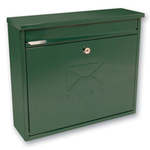 Sterling Locks MB02G - Green Elegance Post Box