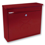 Sterling Locks MB02R - Red Elegance Post Box