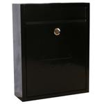Sterling Locks MB05BK - Black Compact Post Box