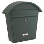 Sterling Locks MB06G - Matt Green Classic 2 Post Box