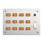 Wandsworth QD343 - Nurse Call Station Remote Indicator Panel - 18 lamps