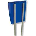 Burg Wachter Universal 150 Ni - Universal 150 Ni Stainless Steel Letter Box Stand