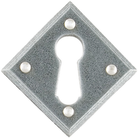 Pewter Patina Escutcheon Plates