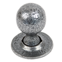 Pewter Patina Door Knobs