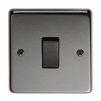 Black Nickel Electrical Accessories