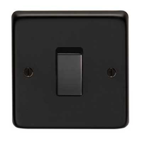 Matt Black Electrical Accessories