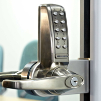 Codelocks' CL4000GD Glass Door Electronic Digital Lock Range