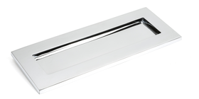 From The Anvil 33062 - Polished Chrome Small Letter Plate