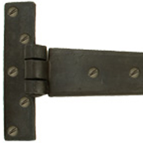 From The Anvil 33010 - Beeswax T-Hinge Penny End 18 inch