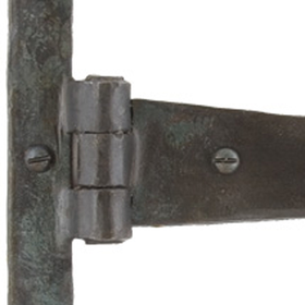 From The Anvil 33154 - Beeswax T-Hinge Penny End 6.5 inch
