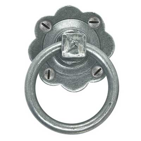 From The Anvil 33666 - Pewter Patina Cottage Latch - Left Hand