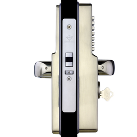 Codelocks CL0475 - Narrow stile Codelock complete with Code Free Function, Euro Profile cylinder and cams