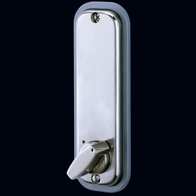 Codelocks CL210 KEY - Mechanical Codelock with Mortice Deadbolt with Key Override