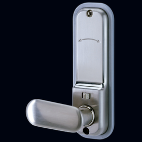 Codelocks CL255 KEY - Mechanical Codelock with Mortice Latch with Key Override