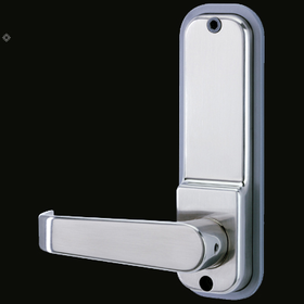 Codelocks CL505 - Front & Back Codelock Plates only. For use with existing mortice latch or lock. Code Free Entry Option
