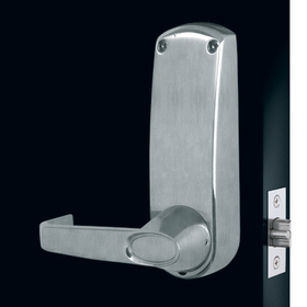 Codelocks CL600 - Front & Back Codelock Plates only. For use with existing mortice latch or lock.