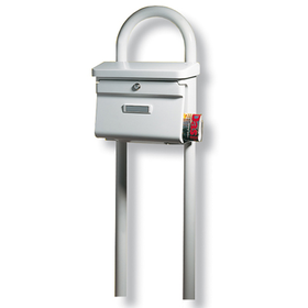 Burg Wachter Rondo 145 W - Universal 150 Ni Stainless Steel Letter Box Stand