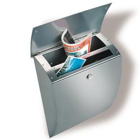 Burg Wachter Milano 3843 ES - Milano 3843 ES Stainless Steel Letter Box