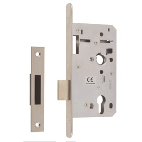 Union JHD72DL - JHD72DL Euro Profile Heavy Duty Mortice Deadlock - 60mm backset