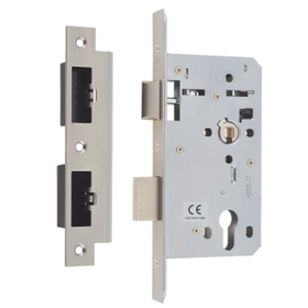 Union JHD72SL - JHD72SL Euro Profile Heavy Duty Mortice Sashlock - 60mm backset
