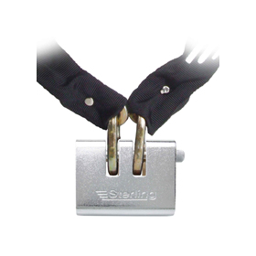 Sterling Locks 200ASP - SOLD SECURE Hardened Chain and Padlock - 2m