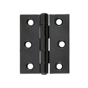 From The Anvil 91040 - Black Heavy Duty Butt Hinge 3 x 2.5 inch