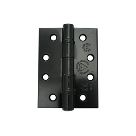 From The Anvil 91043 - Black Ball Bearing Butt Hinge 4  x 3 inch