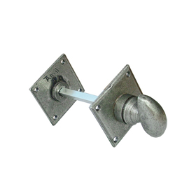 From The Anvil 18336 - Pewter Patina Diamond Bathroom Thumbturn & Release