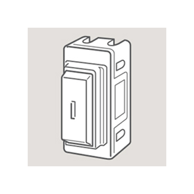 Wandsworth 22 - Double Pole Key Switch