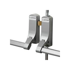 Exidor 309 - Double Door Set with Horizontal Pullman Latches for Rebated Double Doors